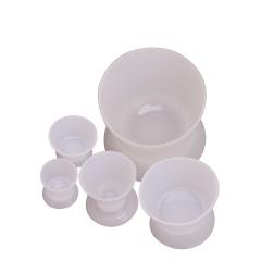 牙科硅胶杯牙科材料自凝调拌杯硅橡胶调拌杯可高温消毒牙科小碗 XS