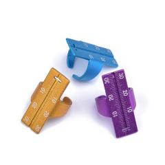 根管测量尺 牙科戒尺不锈钢戒尺测量尺铝合金戒指尺测量方便准确