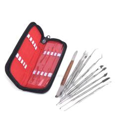 牙科器械蜡型工具套包蜡刀.调刀.雕刻刀牙科技工材料牙齿雕刻包邮