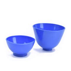 牙科石膏碗橡胶碗牙科皮碗牙科材料加厚橡胶碗大中小号耗材 小号