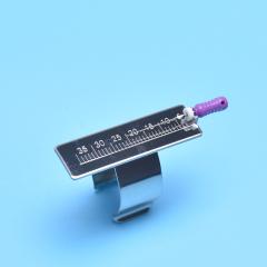 牙科戒尺 不锈钢测量尺 根管长度测量尺 指环尺 测量方便