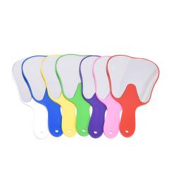 牙科镜子 牙齿饰品镜子 口腔门诊牙型镜 牙齿形小镜子 牙科材料