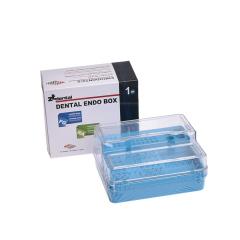 牙科车针磨头根管锉消毒盒整理盒牙科器械管理盒口腔收纳盒耐高温