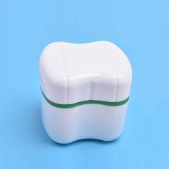 假牙盒义齿盒保持器盒磨牙套盒 储牙盒 保丽净清洁片 放全口假牙