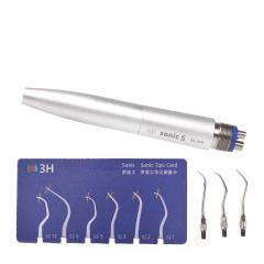牙科气动洁牙机超声波根管荡洗洁牙机气动洗牙机4个工作尖