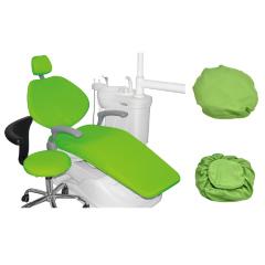 安华齿科牙椅套牙科椅套四件套防水免洗牙椅布套座套座椅套保护套 浅蓝色