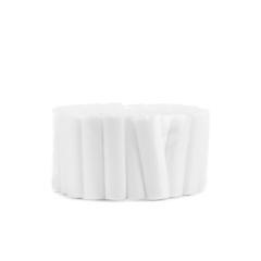 牙科棉卷 口腔隔湿 吸水棉卷 止血棉条 脱脂棉棒   50条/卷
